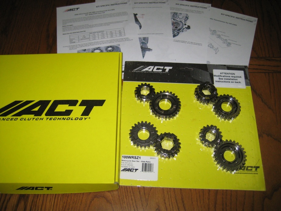 ACT gears